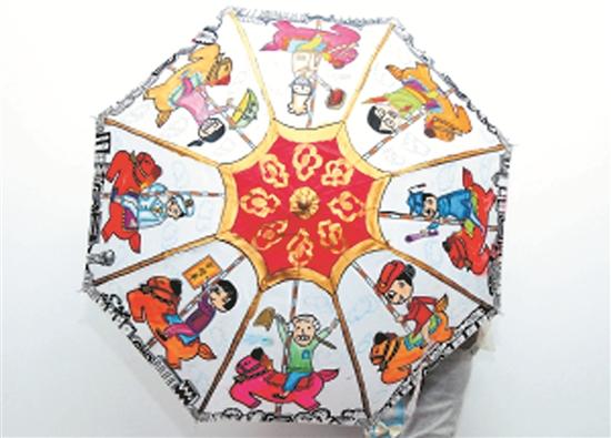 儿童手绘伞