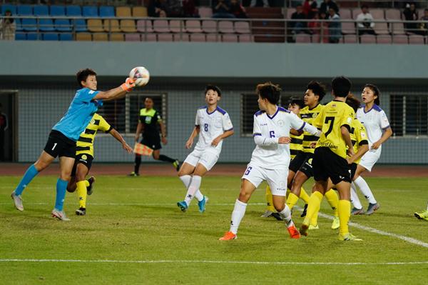 国际大体联足球世界杯女子组三四名决赛 北师大点球憾负错失季军